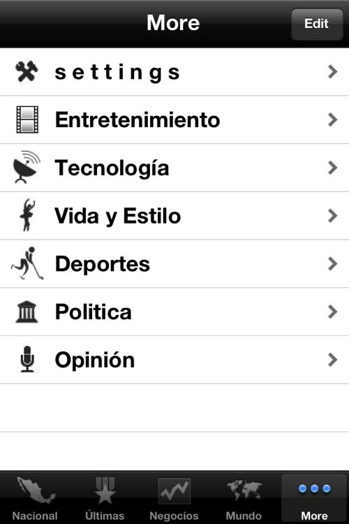 México Noticias, 24/7 screenshot-4