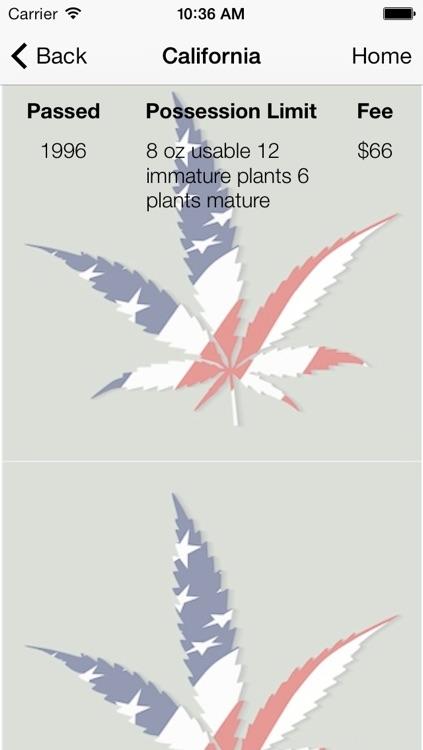 USA Marijuana Laws State by State screenshot-3