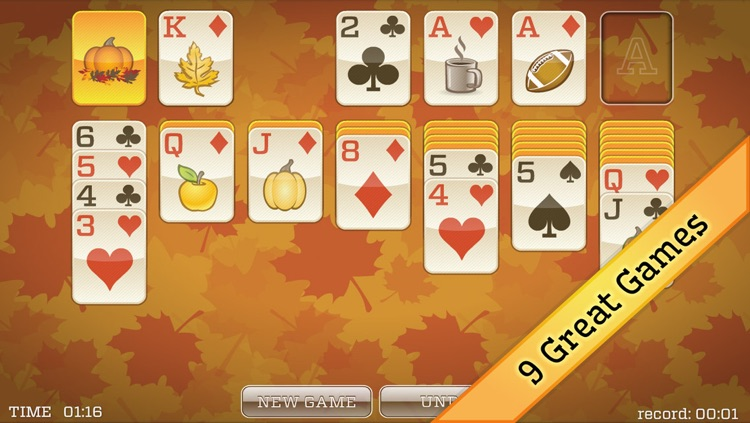 Fall Solitaire Screenshot 3