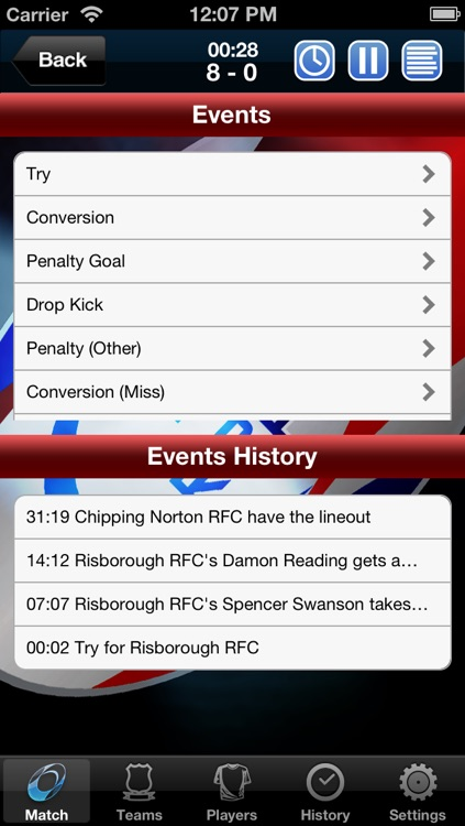 Rugby Reporter Pro screenshot-3