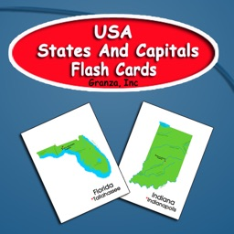 USA State Capitals Flashcards