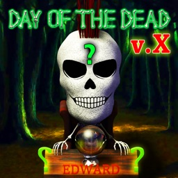 Day Of The Dead with Edward the Skeleton Explicit