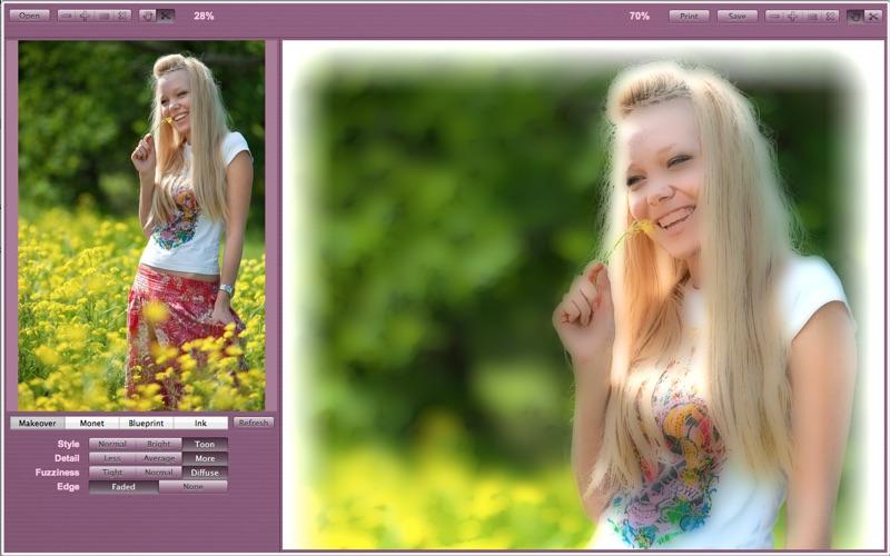 Face Makeover Pro Screenshot