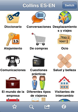 Collins English<->Spanish Phrasebook & Dictionary with Audio screenshot-2