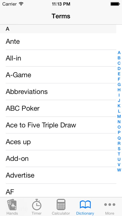 Poker Helper Pro screenshot-3