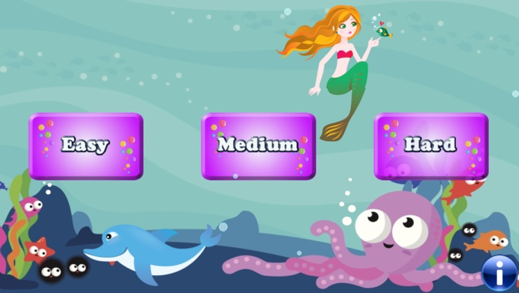 Mermaids and Fishes for Toddlers and Kids : discover the ocean !