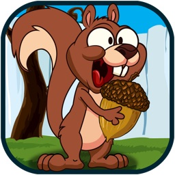 Squirrel Nuts Collection - Crazy Animal Maze Game FREE by Pink Panther