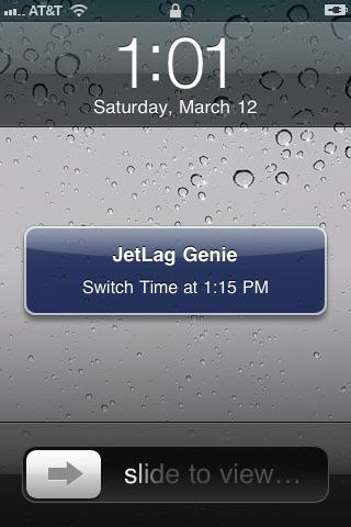JetLag Genie screenshot-3