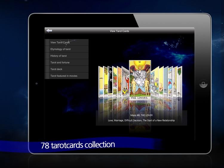 TarotCafe HD screenshot-3