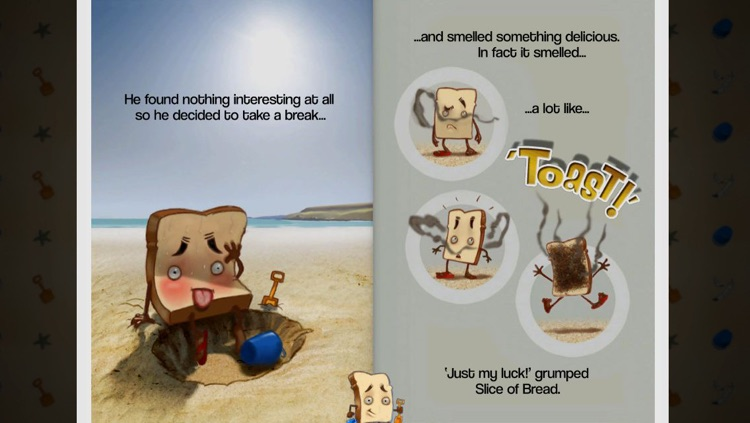Slice of Bread goes to the Beach screenshot-3