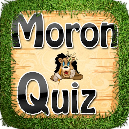 Moron Quiz HD Lite icon