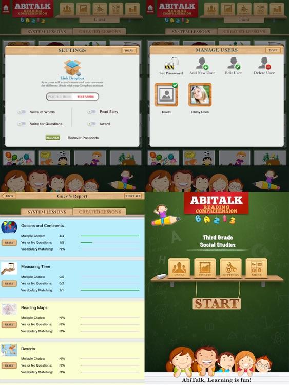 Second Grade - Third Grade NonFiction Reading Comprehension Free screenshot-4