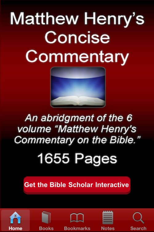 Matthew Henry Concise Commentary on Bible