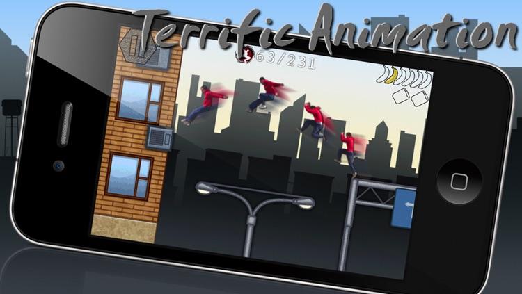 iTraceur - Parkour / Freerunning Platform Game