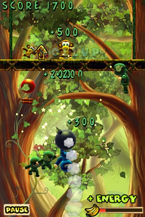 Munkey Vs Ninjas screenshot-3