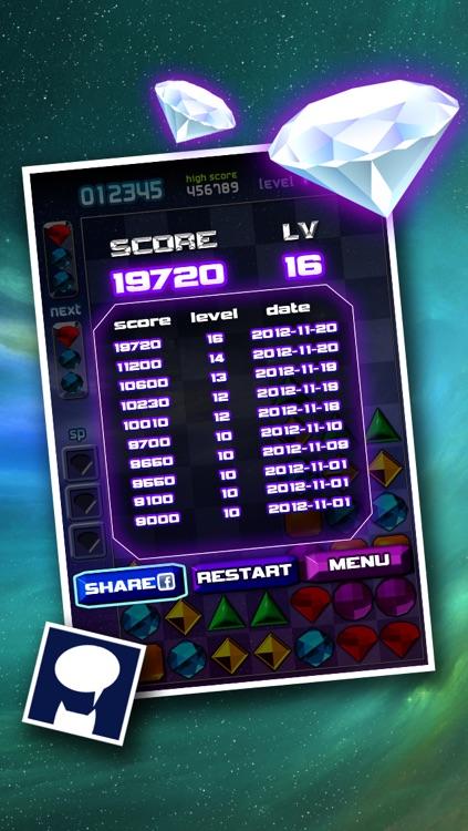 Hexa Gems Free screenshot-3