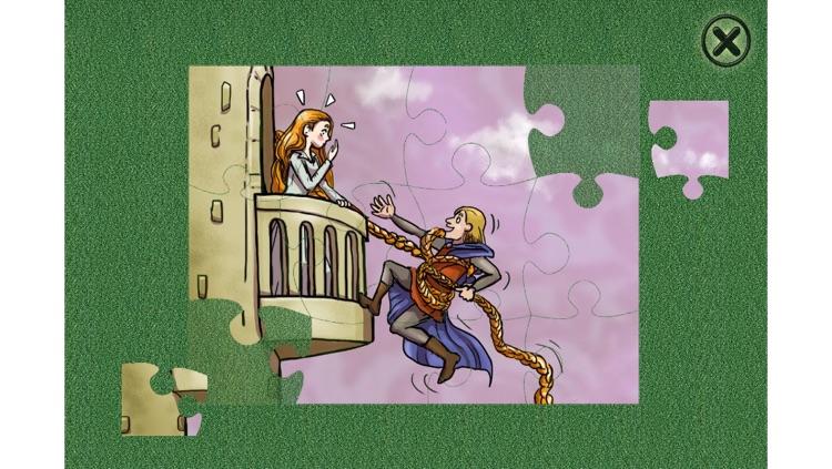 Rapunzel - Book - Cards Match - Jigsaw Puzzle (Lite) screenshot-3