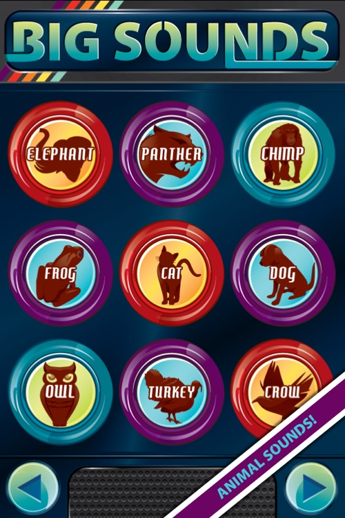 Big Sounds ~ sound effects button box + ringtones
