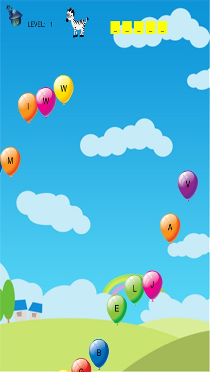 ABC Balloons & Letters