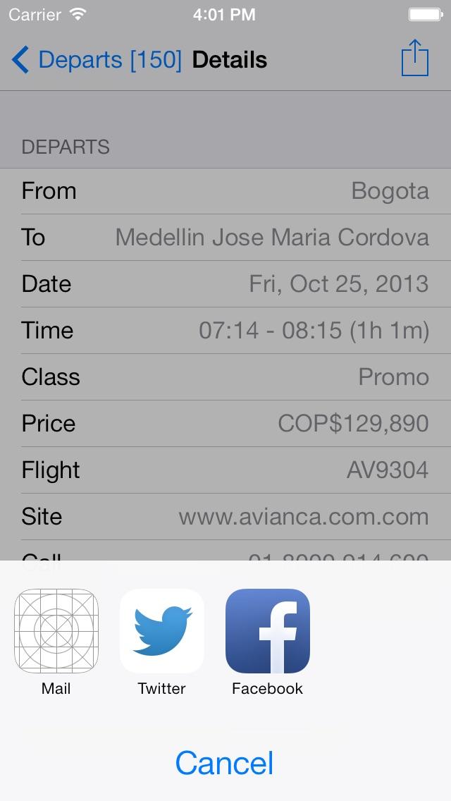 Colombia Flight FREE Screenshot