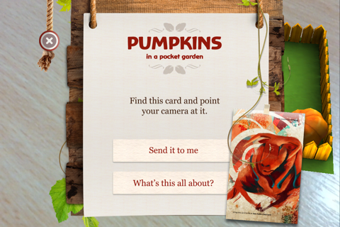 Pumpkins in a Pocket Garden screenshot 2