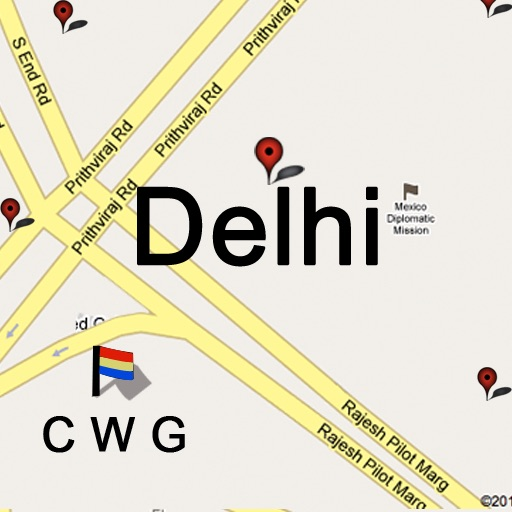Commonwealth Games (CWG Offline Maps Delhi)