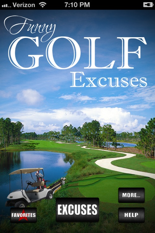 Funny Golf Excuses!