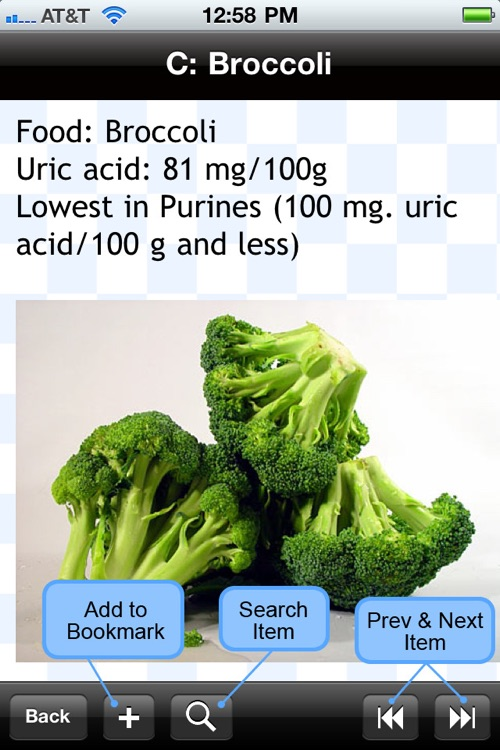 Purine and Uric Acid Food List screenshot-4