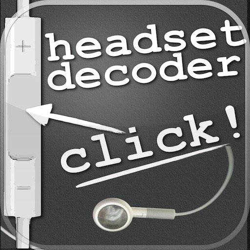 Headset Remote Controls Decoder for iPhone