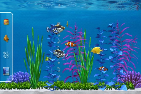 Colorful Aquarium Lite screenshot-4