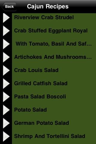 Cajun Recipes - Cookbook screenshot-3