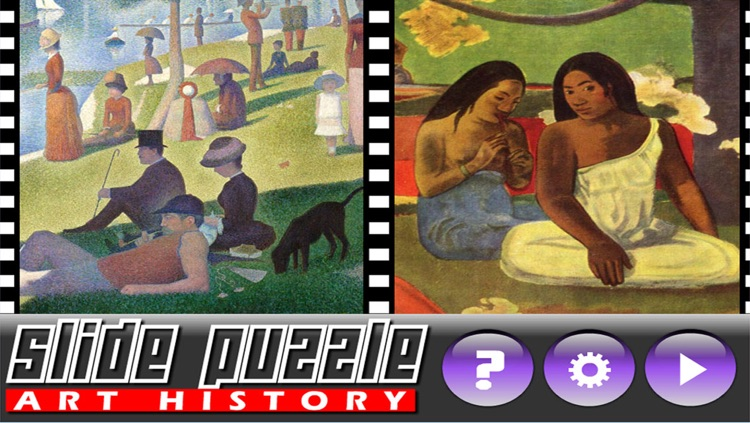 Slide Puzzle Painting (Art History) screenshot-3