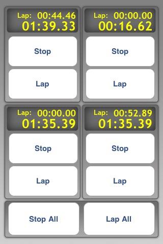 Multi Stopwatch Pro