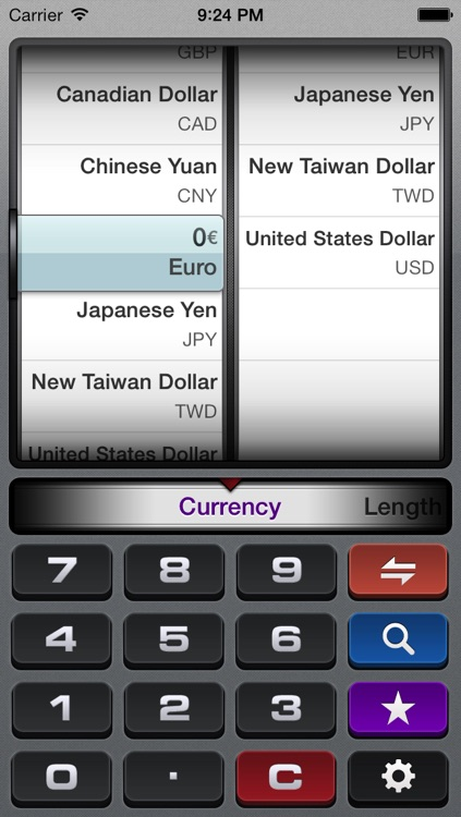 gUnit Lite - Free Currency & Unit Converter (Conversion)