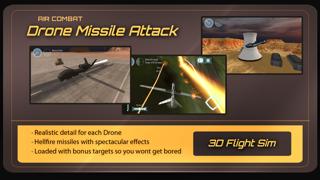 エアーコンバットドローンパイロットミサイル攻撃シミュレータ 3Dのおすすめ画像2