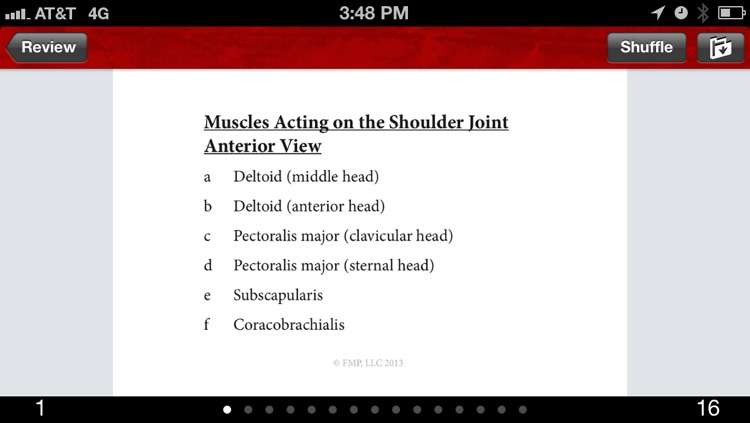 Anatomy & Kinesiology Flashcards screenshot-4