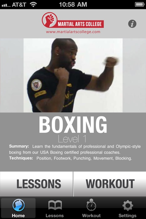 Boxing Lessons 1 - M.A.C. Martial Arts College
