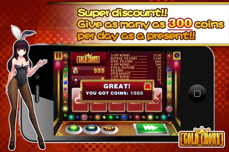 Gold Crown™ Video Poker screenshot-3
