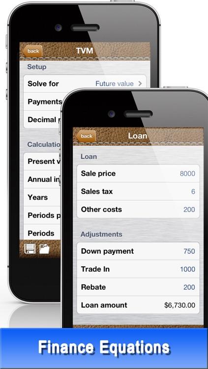 CF Financial Calculator - TVM, Cashflow, Money & Business Equations