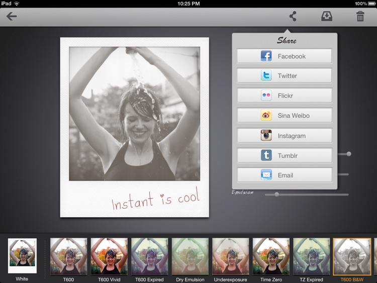 Instant: The Polaroid Instant Photos for iPad screenshot-3