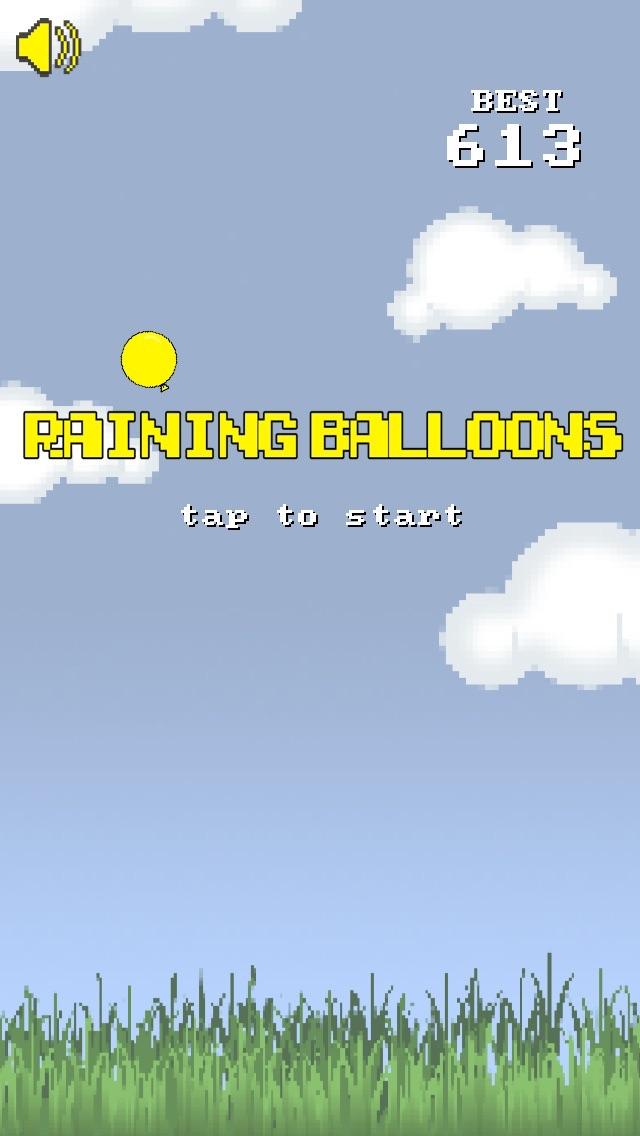 Raining Balloons