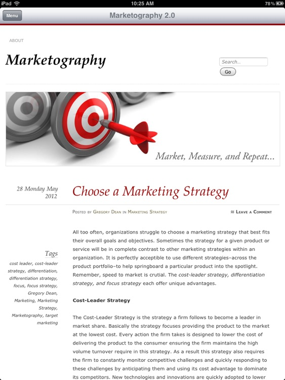 Marketography Pro screenshot-0