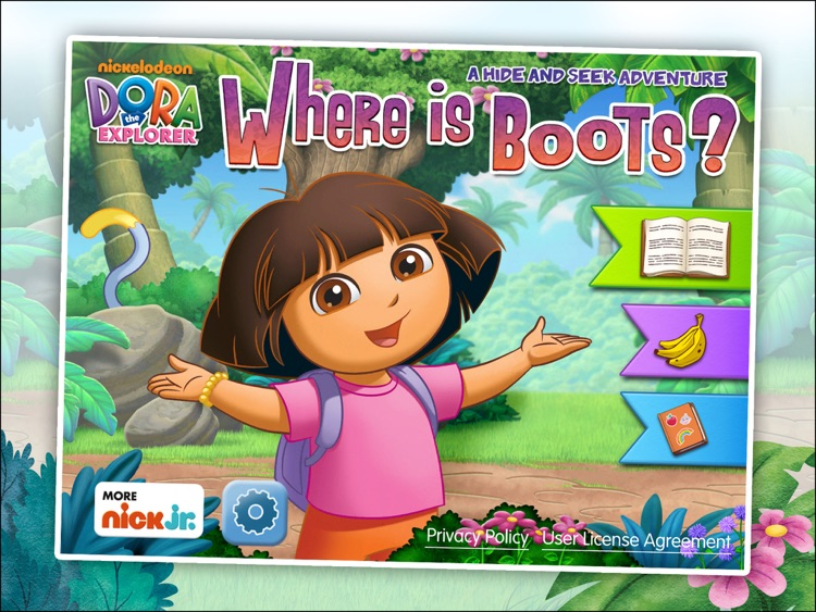 Dora the Explorer: Where is Boots? A hide and seek adventure! HD screenshot-4