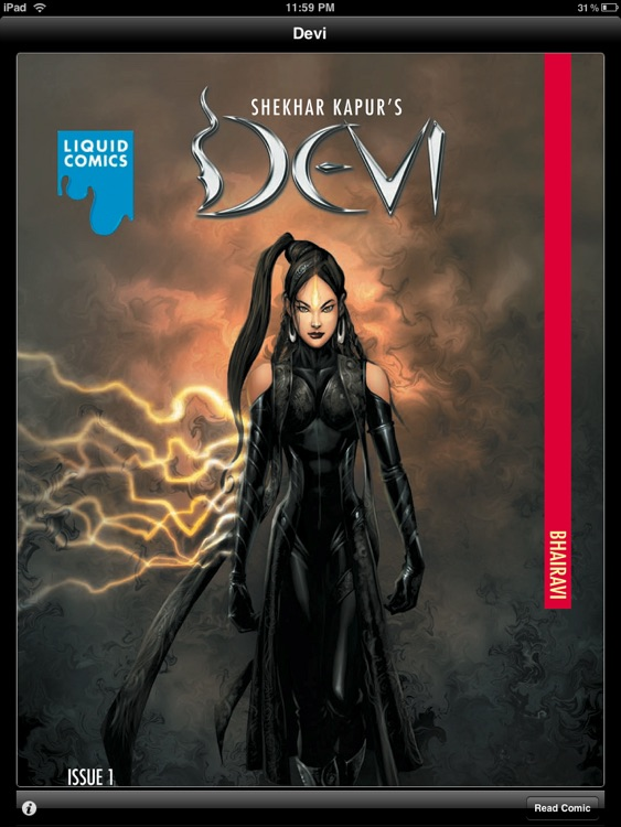 LIQUID COMICS: DEVI INTRODUCTION ISSUE # 1