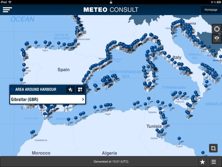 Météo Marine pour iPad screenshot-3