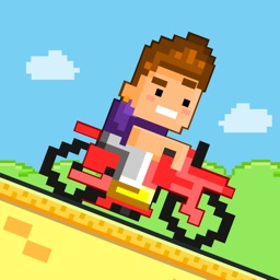 Bike Heroes - Play Free 8-bit Pixel Moto Racing Games