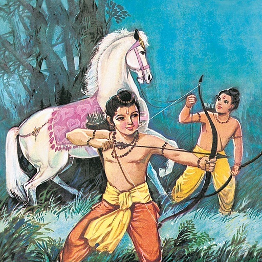 The Sons Of Rama -  Amar Chitra Katha Comics - Classics  Collection