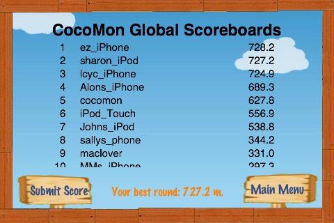 Air CocoMon LITE: Free Flight of the Monkey Coconut screenshot-4