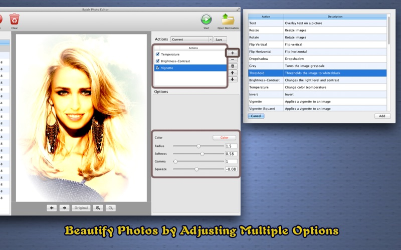 图片批量处理Batch Photo Editor for Mac