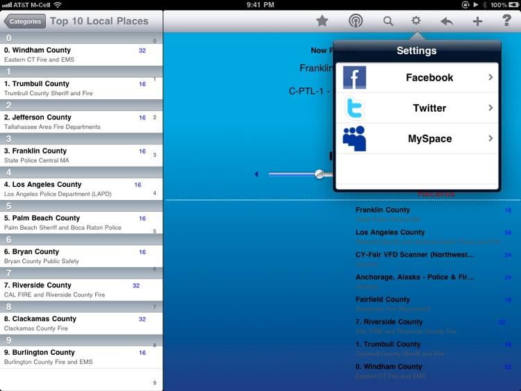 Scanner Radio - iPad Edition screenshot-3